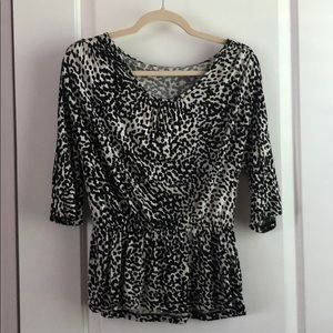Black Speckled Top
